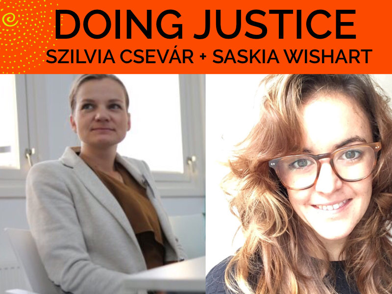 Doing Justice: Saskia Wishart talks with Szilvia Csevár about Exploitation and Climate Change in West Papua
