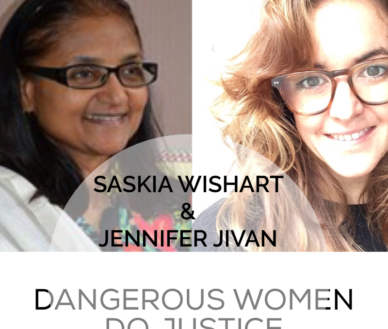 Doing Justice: Saskia Talks with Jennifer Jivan about Peacemaking in Pakistan