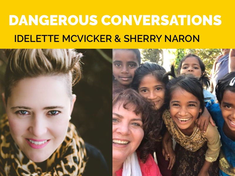 Dangerous Conversation with Sherry Naron, Founder of Rescue Pink