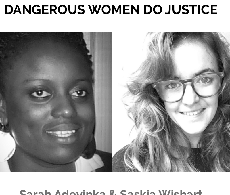DOING JUSTICE: Saskia Talks to Sarah Adeyinka about the European Refugee Crisis